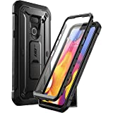 SUPCASE Unicorn Beetle Pro Series Designed for LG G8 Case & LG G8 ThinQ Case(2019 Release) Full-Body Rugged Holster Case with
