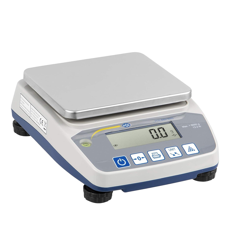 PCE Instruments Zä hlwaage PCE-BSH 10000, 10000 g / 0,2 g, Waage, Waagen, Zä hlfunktion, Batterie, Netz