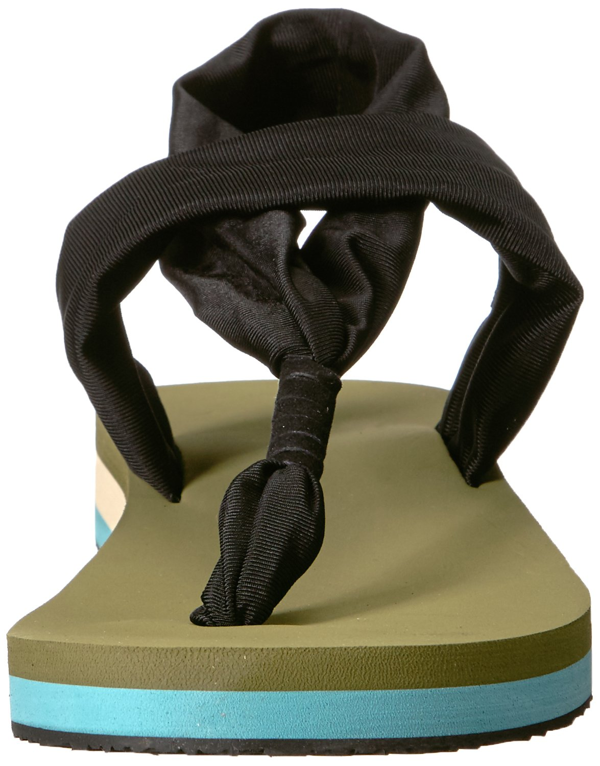 Chooka Women's Yoga Mat Footbed Sling Sport Sandal Flip-Flop B074NZV8JW 9 M US Olive
