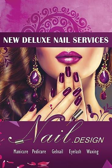 Amazon Nail Art Salon Designs Pedicure Manicure Shop Store