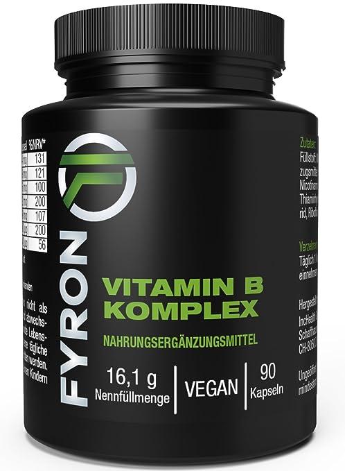 FYRON Complejo Vitaminas B - Energia & Inmunidad - Natural y Vegano