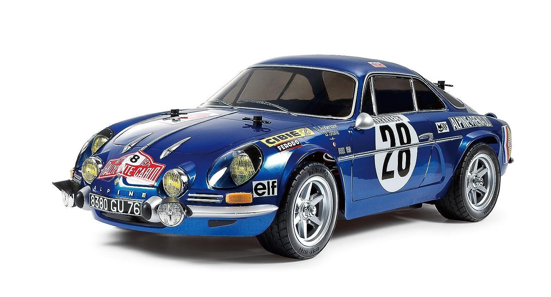 Amazon.com: Tamiya 1/10 Rc Renault Alpine A110 71 M06 Monte Carlo ...