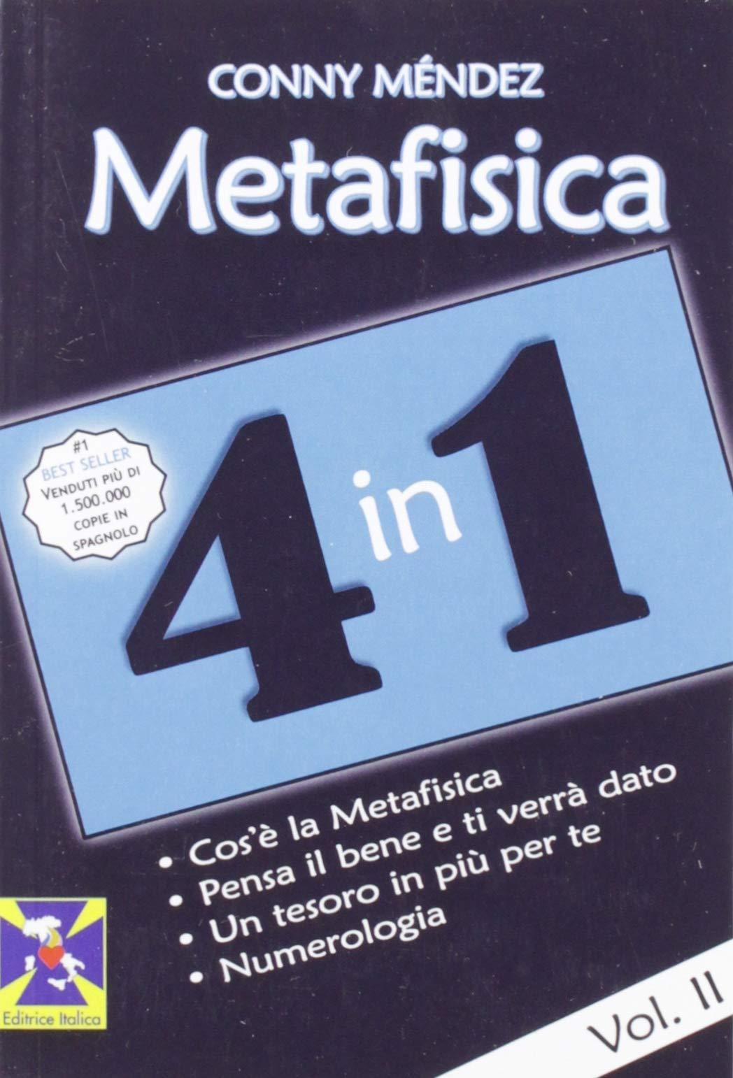 Metafisica 4 In 1 Méndez Conny Ferranti R M Micieli R Soccio S 9788863241518 Books