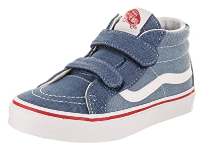 Authentic Meilleur Vans Denim 2 tone Sk8 Mid Reissue V