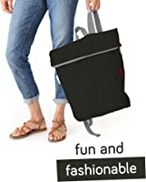 Shopping Backpack for Men and Women Travel Reusable Bag Flip and Tumble Lightweight Foldable Backpack