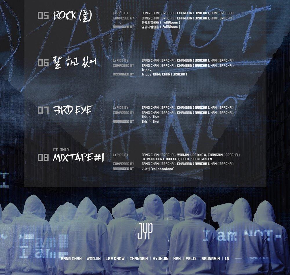 JYP Entertainment Stray Kids - I am NOT [I AM + NOT ver. Set] (1st Mini Album) 2CD+Photobook+3Photocards by JYP Entertainment (Image #7)