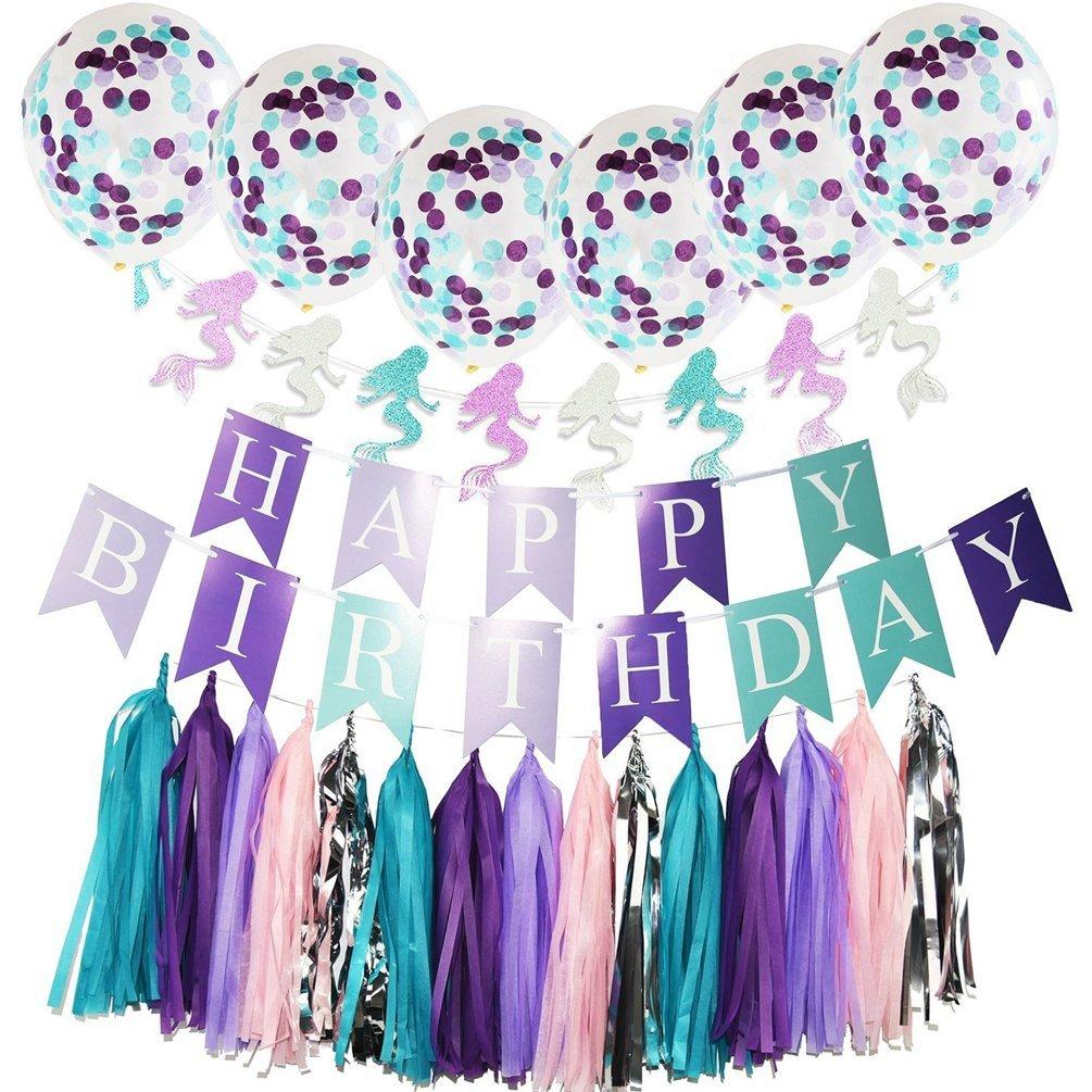 Mermaid Birthday Party Supplies Mermaid Birthday UthTent