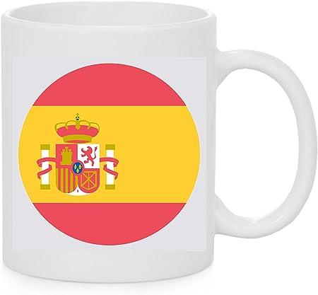 Emoji Taza Bandera España Emoji: Amazon.es: Hogar