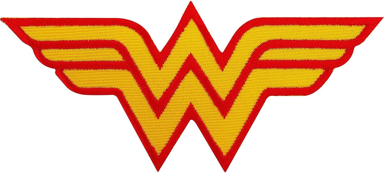 Wonder Woman parche bordado hierro Sew en T Shirt bolsa disfraz Badge: Amazon.es: Hogar