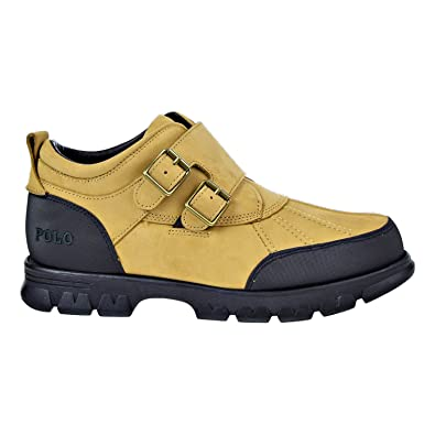 09aa4eff0e Ralph Lauren Polo Darroll-BO-WBT Nubuck Leather Men s Boot Beige Khaki  812626394
