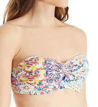 e1087d8e2145c Amazon.com: Sunsets Mambo Bandeau Bikini Top E-H Cups: Clothing