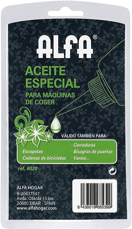 Alfa Aceite para máquina de coser, 100 ml: Amazon.es: Hogar