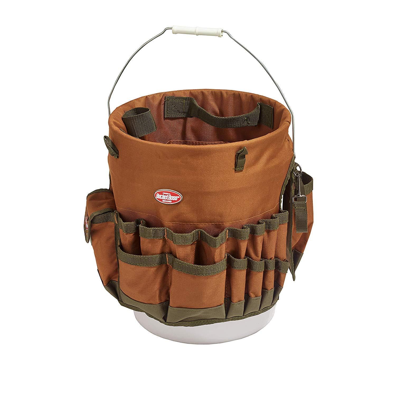 Bucket Boss The Bucketeer Bucket Tool Organizer in Brown, 10030 (Pack of 3)