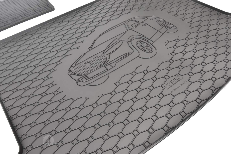 nero colore Tappetino per bagagliaio adatto per Mazda CX-30 a partire dal 2019