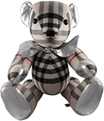 Burberry Large Thomas Bear in Check 100% Cashmere 4042518 Made in England 65cm