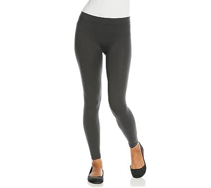 0b3a5e8cd61e8 PINK ROSE Seamless Leggings - Black -: Amazon.co.uk: Clothing