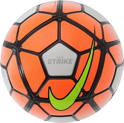 Nike Strike – Balón de fútbol, color blanco y naranja de balón de ...