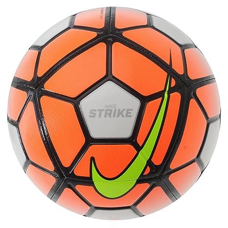 Nike Strike - Balón de fútbol, color blanco y naranja de balón de ...