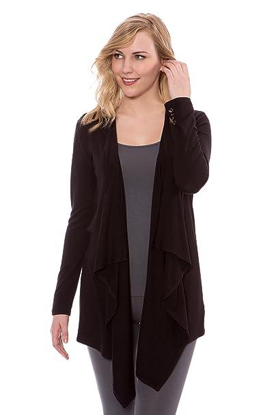 Amazon.com: texere chaqueta de punto de manga larga de la ...