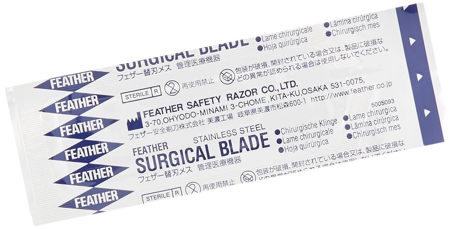 GF Health 2976#15 GF Health Sterile Surgical Blade, 15 (Pack of 100)