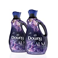 Downy Infusions Liquid Fabric Conditioner (Fabric Softener), Calm, Lavender & Vanilla Bean, 56 Oz Bottles, 166 Loads Total (Pack of 2)
