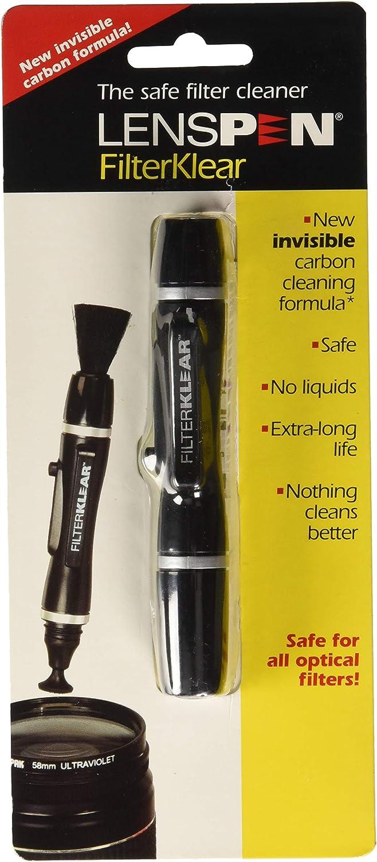 LensPen FilterKlear NLFK-1C Filter Cleaner Black with Silver Rings