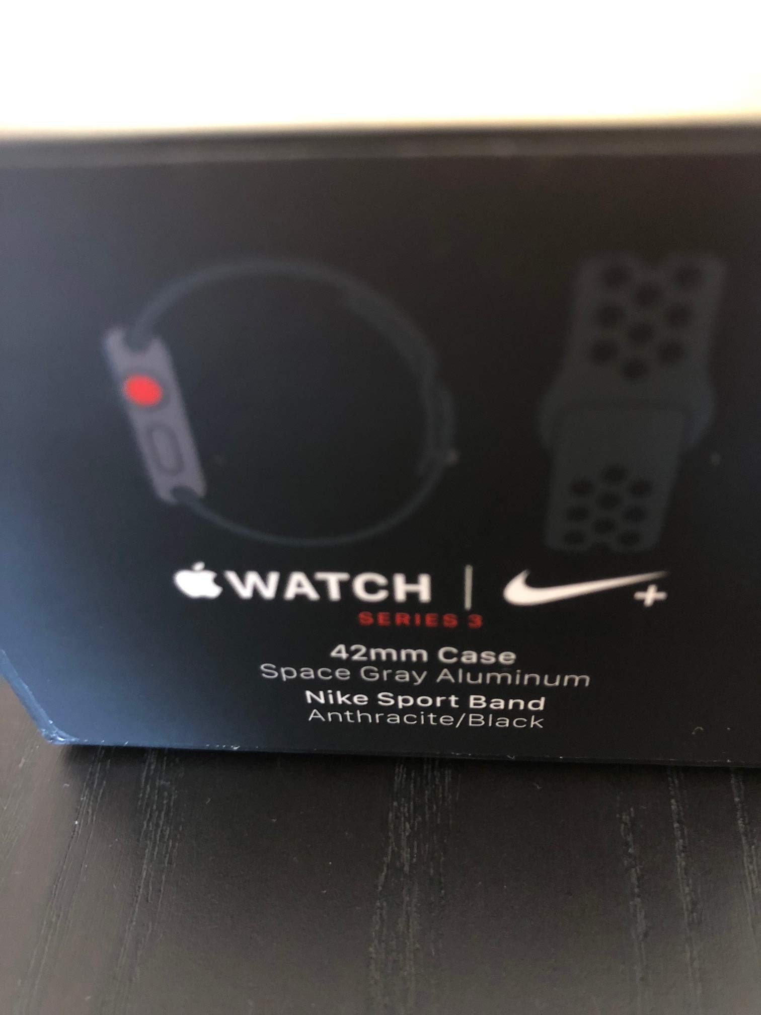 persuadir después del colegio invadir  Apple Watch Series 3 Nike+ - GPS+Cellular - Space Gray Aluminum Case with  Anthracite/Black Nike Sport Band - 42mm - Apple Apple Apple Apple