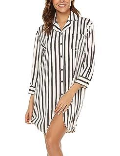 NEW Women/'s V-neck Short Sleeve Women/'s Casual Stripe Loose Top Fashion K5P
