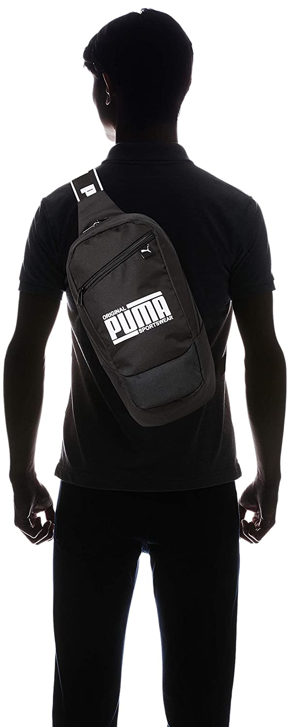 d0a8bfe41d PUMA Unisex's Sole Cross Bag Backpack, Black, OSFA: Amazon.co.uk: Sports &  Outdoors