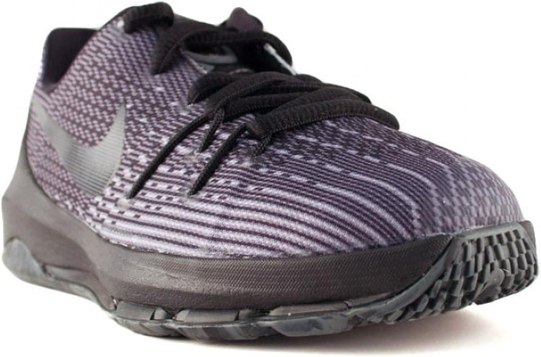 Nike Boys KD 8 Low Basketball Shoes Black Grey 11C
