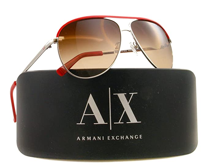 193bd4280 Image Unavailable. Image not available for. Colour: Armani Exchange Aviator  Sunglasses AX ...