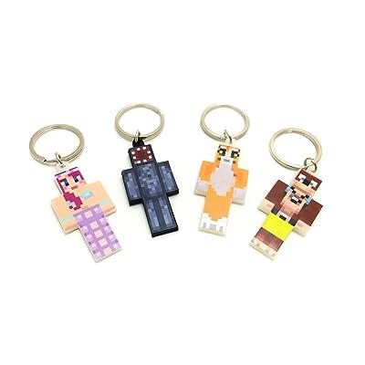 4 Keychain Bundle (Magic Animal Club) by EnderToys - A Plastic Toy Set by EnderToys: Juguetes y juegos