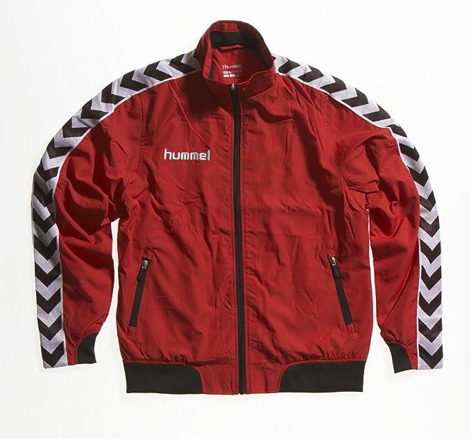 bda6c3745a71 hummel - Tuta Sportiva da Allenamento da Donna Still Authentic in  mocrofibra, Multicolore (Rosso