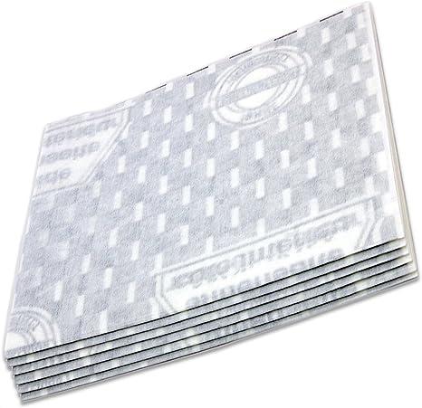 Lote de 6 filtros de grasa de 60 cm para campana extractora 00452151 genérica: Amazon.es: Grandes electrodomésticos
