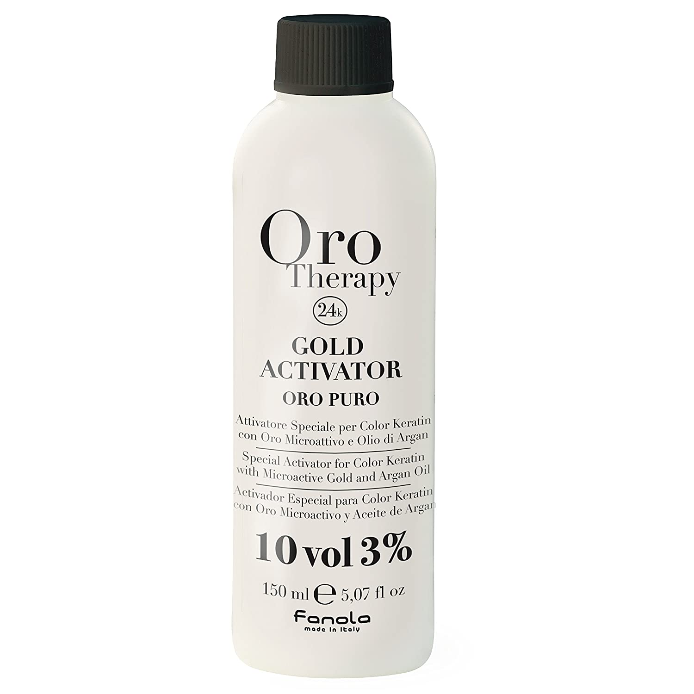 fanola Oro Therapy Oro Special Activator for Color Queratina puro 3%, 1L 8032947864676