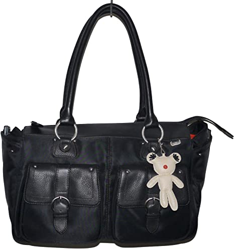 Il Tutto Ava Baby Changing Luxury Tote Bag and Accessories Black