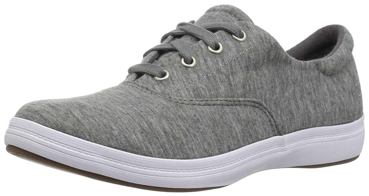 Grasshoppers Women's Janey Ii Jersey Fashion Sneaker B06XJRM8JM 6 W US|Charcoal