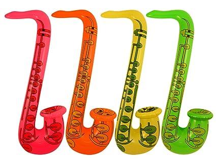 75cmAmazon Juegos Saxofón esJuguetes De 4x HinchableDiseño Y sQCdhxtr
