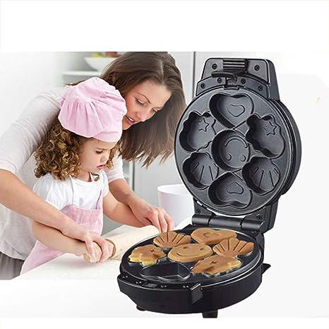 XCXDX Máquina Multifuncional para Hacer Donas De Pasteles 2 En 1, Mini Bandeja Eléctrica para