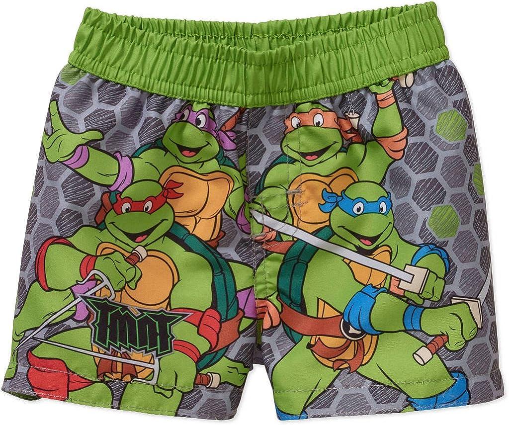 Nickelodeon Teenage Mutant Ninja Turtles Swim Trunks Shorts Boy Size 6//7