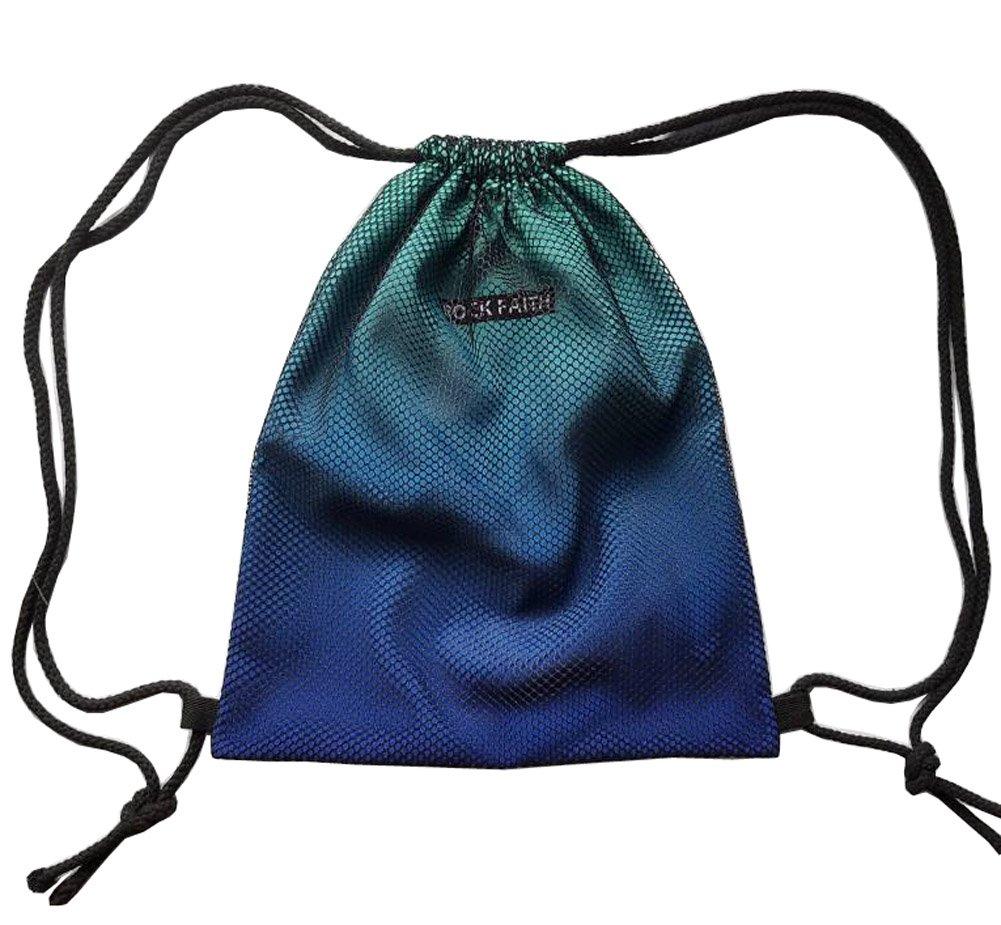 グラデーションメッシュスポーツDrawstringバックパック旅行ストレージ文字列バッグカスタム安い B01IN33D86