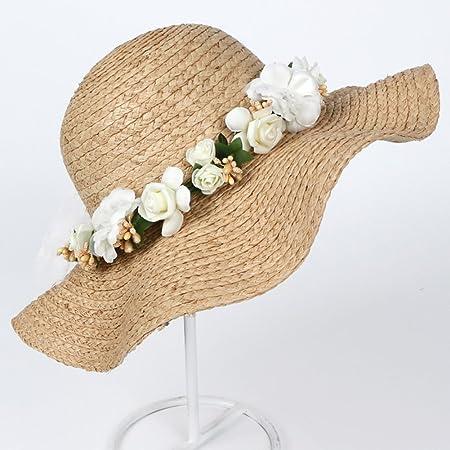 84bd8aeb8 Td Hat Female Summer Visor British Style Bow Tie Straw Hat Seaside ...