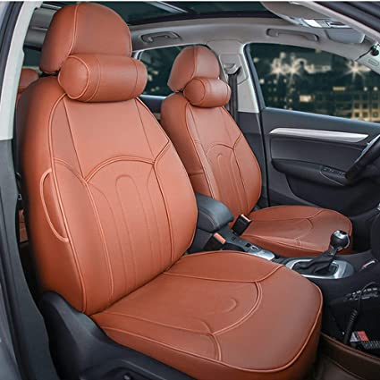 Awesome Amazon Com Autodecorun Pu Leather Exactly Fit Car Seat Uwap Interior Chair Design Uwaporg