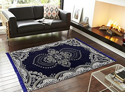 AAZEEM Abstract Velvet Carpet - 60