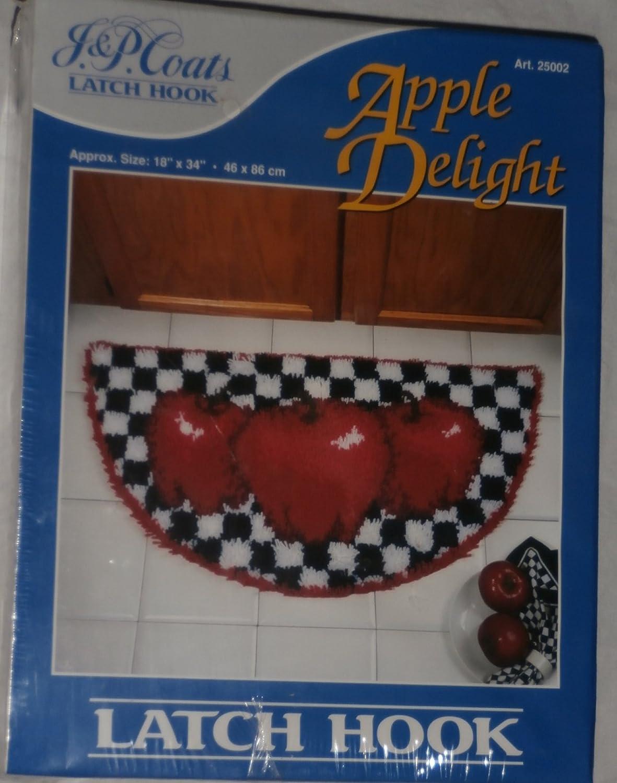 J & P Latch Hook Set Apple Delight JP Coats