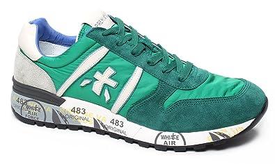 PREMIATA , Herren Sneaker grün grün, grün - grün - Größe  42  Amazon ... 95c9bc6c67