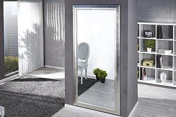 Dunord designwandspiegel standspiegel pure silber cm design