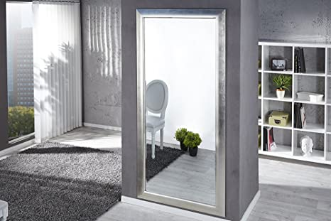 Grande dal Design moderno specchio ESPEJO argento 190 x 90 cm ...