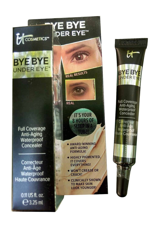 It Bye Bye Under Eye Waterproof Concealer Neutral Medium by Innovative Technology Cosmetics It Cosmetics