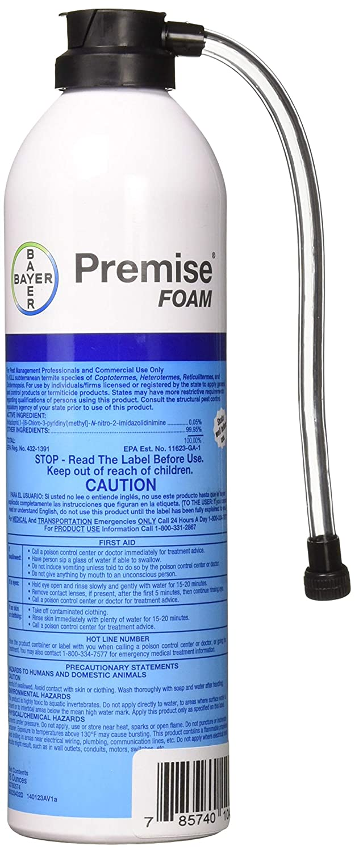 Bayer 03780574 Premise Foam Termiticide